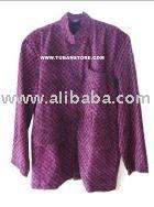 Kemeja Tenun Violet Batik T-shirt