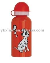 aluminum drinking bottle