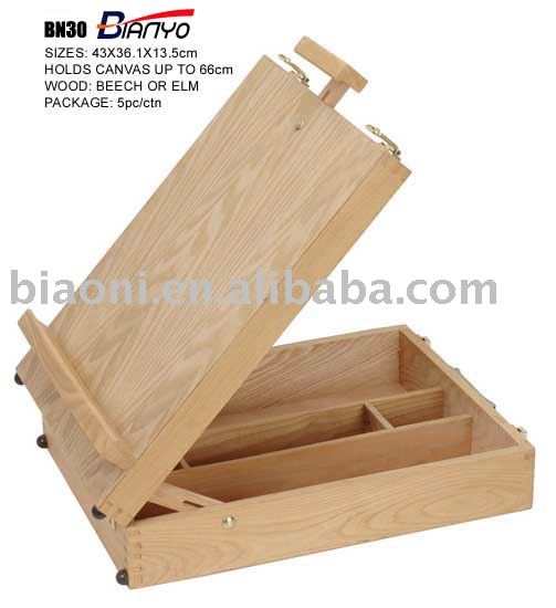 Free easels patternswith paint tray, where can i buy cheap