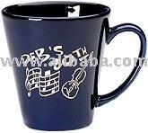 Short Latte Ceramic Mugs