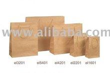HANDMADE PAPER BAGS FROM BROWN KRAFT PAPER