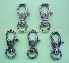 gun metal color spring hooks