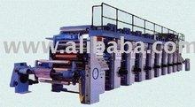 used Roto Gravour Printing Machine