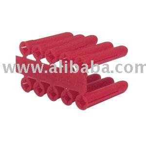 Expansion Wall Plugs - Red (Loose) - 5.5mm