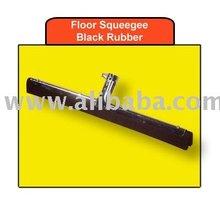 Floor Squeegee - Black Rubber