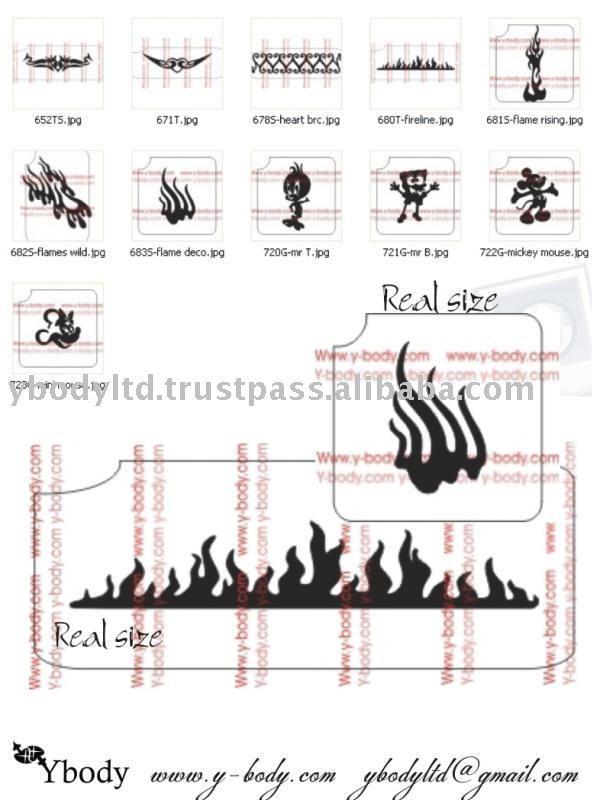 Thermal fax -сrеаtеԁ tattoo stencil stencils tattoo. Image bу jovino