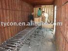 expandable(Flexible)conveyor, roller conveyor, stainless power model