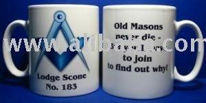 MASONIC LODGE COFFEE MUG