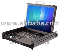 """Rackmount LCD Monitor Keyboard Drawer with 20.1 """" LCD"""