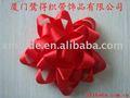 Tipo estrela flores de fita de cetim