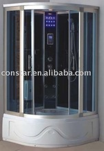 Glass Panel Shower Room with Screen Touch Control