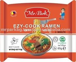 Mr. Park Ezy Cook Ramen Instant Noodles 65g Beef