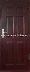 Galvanized door exterior installing, commercial doors, install entry door