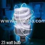 Ionic Light Bulb - Air Freshening CFL 23 Watt Light Bulb by Viatek