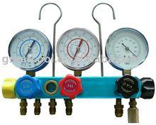 5 valve manifold (manifold set,manifold gauge, refrigerant gauge)