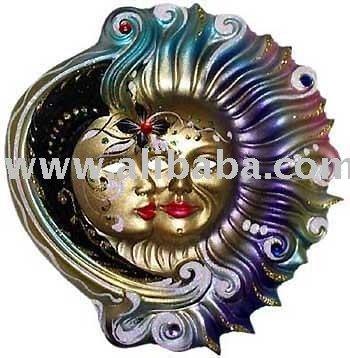 ceramic venetian masquerade masks