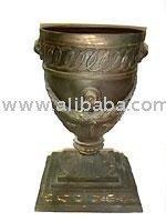 Fleur de Bronze vase