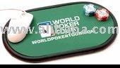 Dodging Bullets Gold Poker Card Protector & Guard