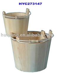 Wooden bucket, wooden barrel, wooden crafts