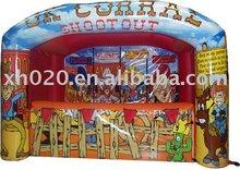 2012 Endless fun new arrive outdoor or indoor commercial grade vinyl tarpaulin inflatable sport games
