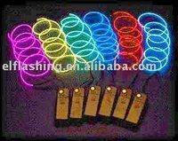 Multi - Color EL Flashing Wire