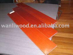 Solid flooring(dahoma; UV coating)
