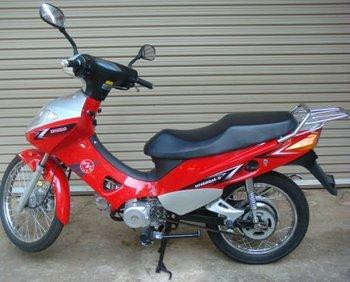 SMV-340D world's first production hybrid motorcycle