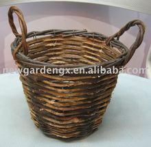Garden Wicker Basket