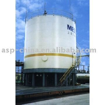 400m3 tanque criogénico líquido( de gran tamaño)