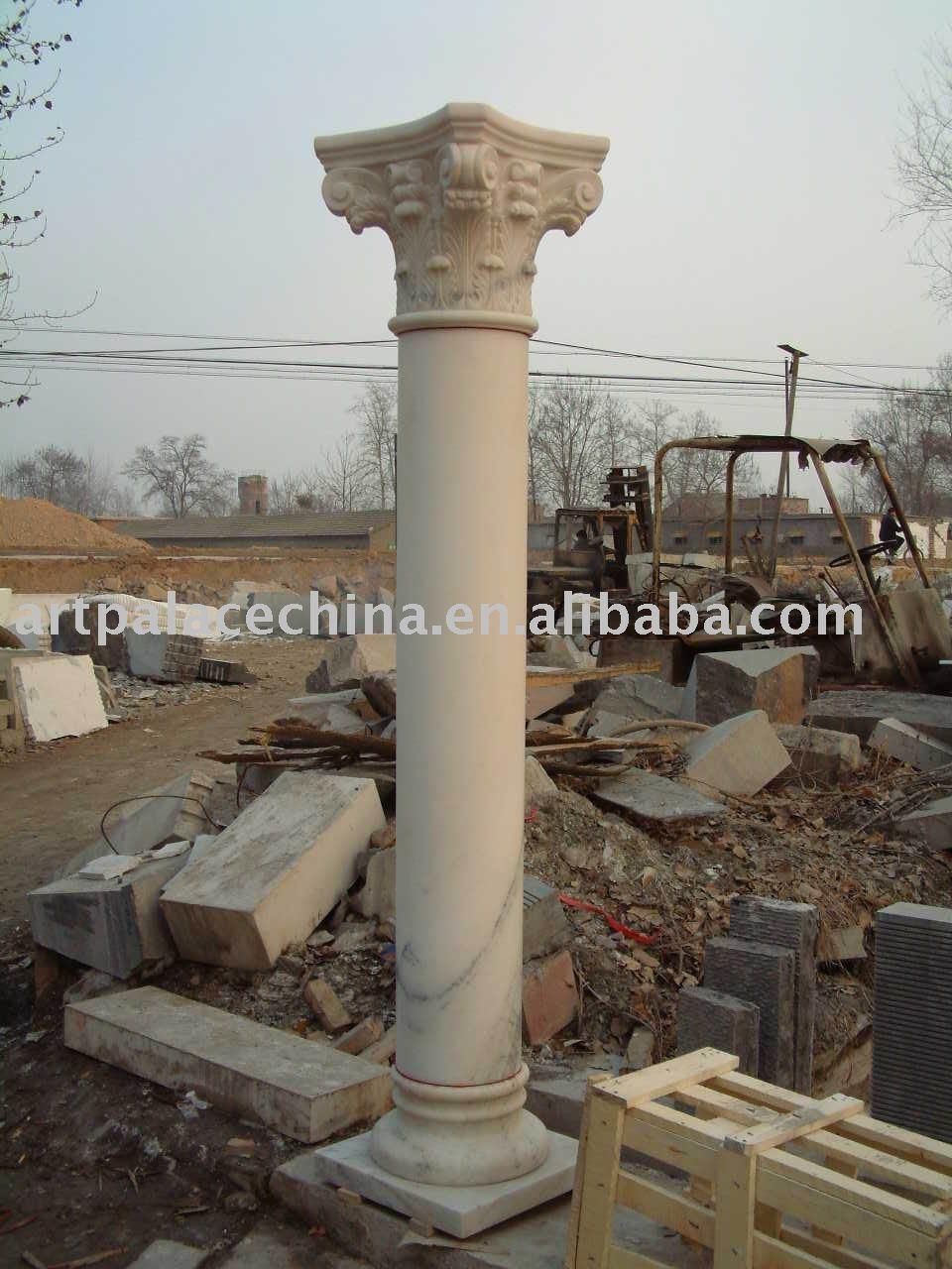 Columna romana de m rmol - Columna de marmol ...