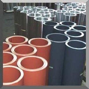 Galvanized non-ferrous tin