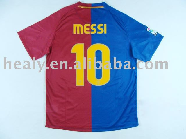 messi barcelona jersey. BARCELONA HOME JERSEY