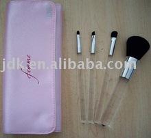 4pcs Portable makeup brush set/cosmetic brush set