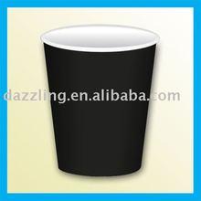 Disposable PMS Color / Colour Paper Cup - Black