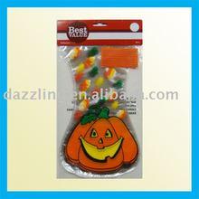 Shaped PP / Cellophane Candy Bag - Pumpkin