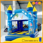 Much fun hot selling good guality air bouncer indoor inflatable castle for sale