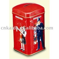 Tin Coin Bank/Money Bank/Tin Saving Bank