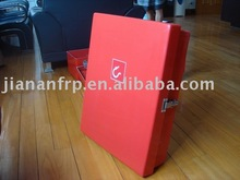 frp fire hose box, cabinet