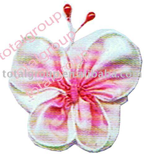 Flower CorsageTGB21C3006 CorsageBow TieCrochet flowersRosetteDoll