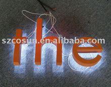 Outdoor Advertising Backlit Metal Letter Signs