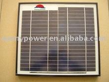Black Aluminum Frame Solar Panel