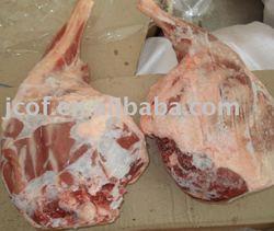 Frozen lamb leg
