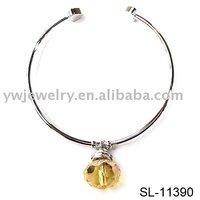 crystal bracelet,charm bracelet ,costume jewelry