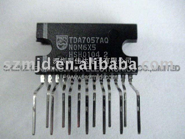 de salida de audio amplificador tda7057aq tda7057