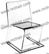 Acrylic Flap Chair