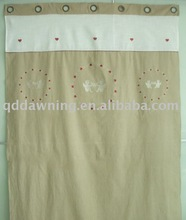 Machine embroidery window curtain,curtain