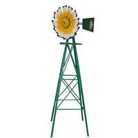 Garden Metal Windmill