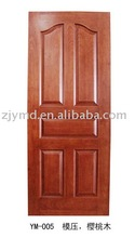 HDF with glass moulded interior door