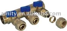 Manifold for pex-al-pex pipe