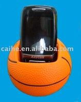 pu basketball phone holder